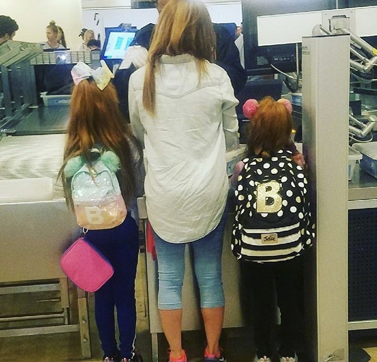 Brandi & Her Daughters On The Way Home