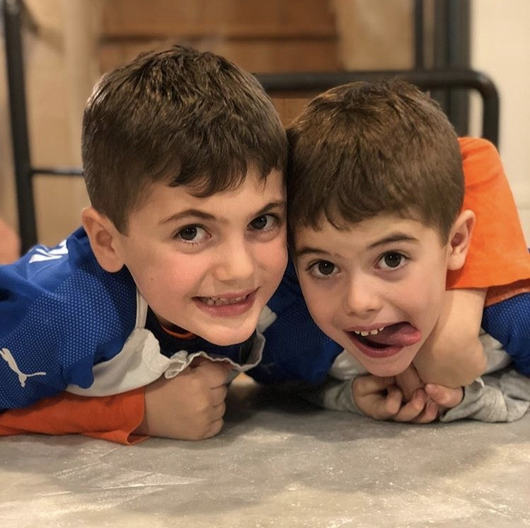 Stephanie's Sons In Rome
