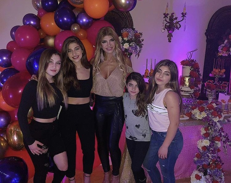 Teresa With Her Four Daughters