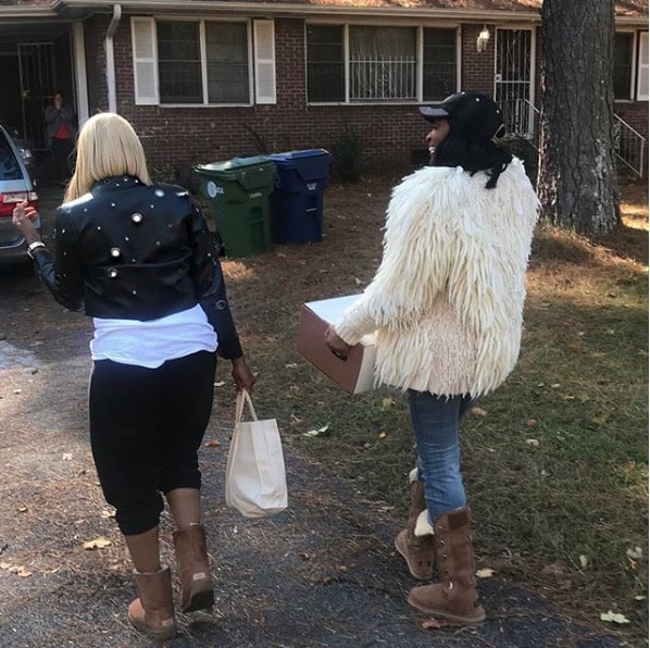NeNe Leakes Gives Back With Marlo Hampton