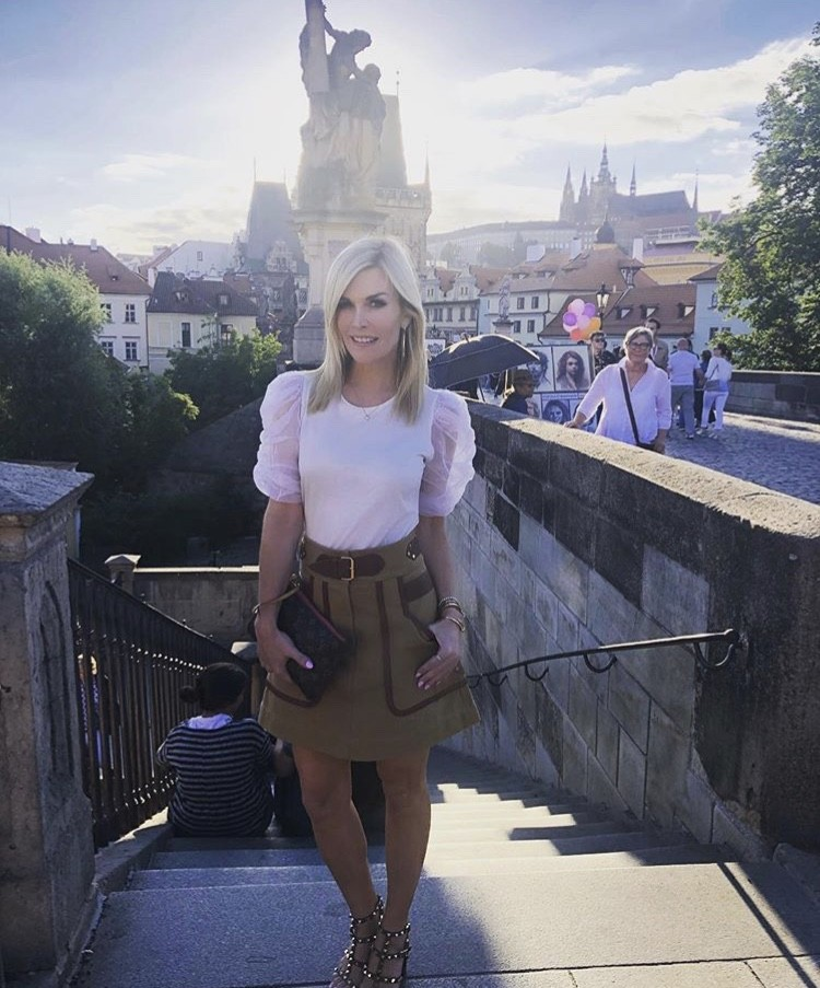 Tinsley In Prague