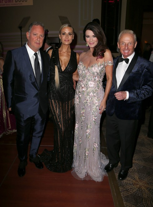 Paul Kemsley, Dorit Kemsley, Lisa & guest